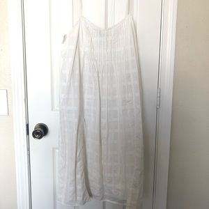 White strappy J Crew dress!